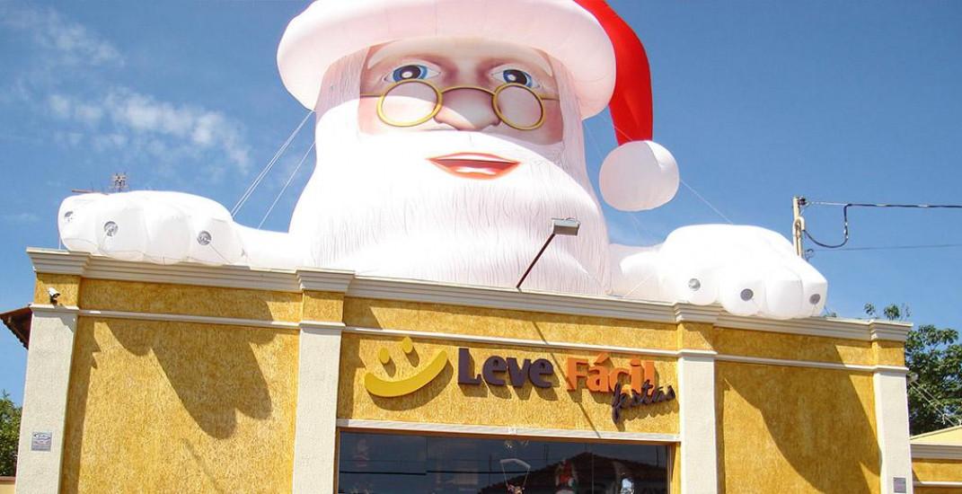 3 Dicas Infalíveis para Decorações de Natal com Infláveis