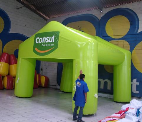 [Tenda Inflável]