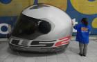 Réplica inflável Capacete LS2 - Foto 1