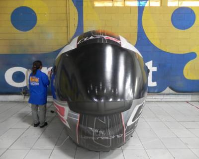 Réplica inflável Capacete LS2