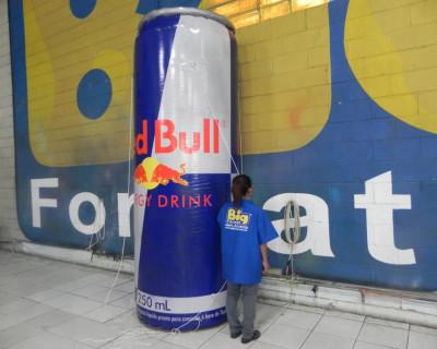 Réplica Inflável Red Bull - 3,00m