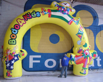 Arco Inflável Bodo 4 Kids