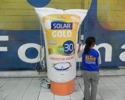 Réplica Inflável Solar Gold e Kids - 2,00m