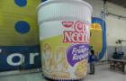 Réplica Inflável Cup Noodles - Frango com Requeijão - Foto 1