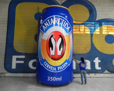 Réplica Inflável Cerveja Antartica - 4,00m
