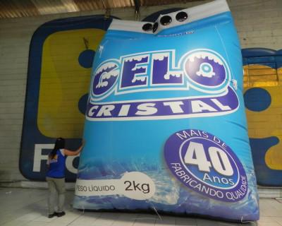 Réplica Inflável Gelo Cristal - 5,00m