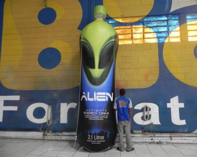 Réplica Inflável Alien - 4,00m