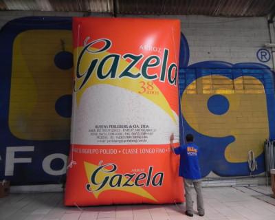 Réplica Inflável Arroz Gazela - 5,00m