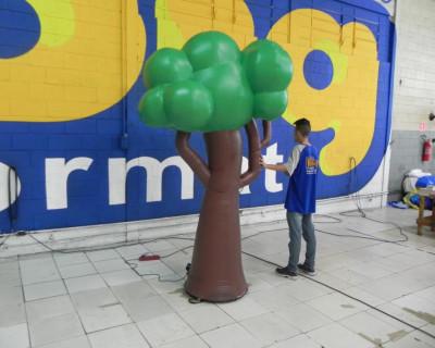 Planeta Alegria - Árvore 3D