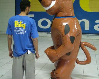 Fantasias ou Roupas Infláveis - Scooby Doo - 2,20 m