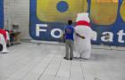 Fantasias ou Roupas Infláveis - Coca-Cola - Urso Polar - Foto 1