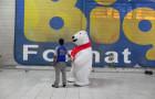 Fantasias ou Roupas Infláveis - Coca-Cola - Urso Polar - Foto 2