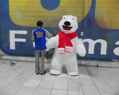 Fantasias ou Roupas Infláveis - Coca-Cola - Urso Polar