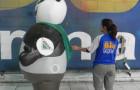 Fantasias ou Roupas Infláveis - CREAS - Panda -  2,20m - Foto 1