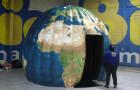 Domo Inflável Sintonia - Mapa Mundi - Foto 1