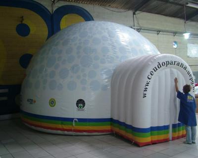 Domo Inflável Céu do Paraná