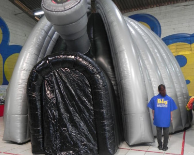 Domo Inflável Big Format - Planetário
