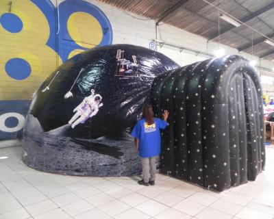 Domo Inflável Amauri José - Planetário