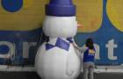 Boneco de Neve Inflável - Foto 1
