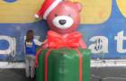 Urso 3D e Presente Inflável - Banco do Brasil - Foto 1