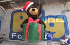 Urso 3D e Presente Inflável - R Alves - Foto 1