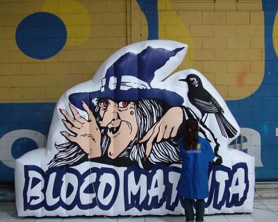 Carnaval Inflável - Bloco Matinta