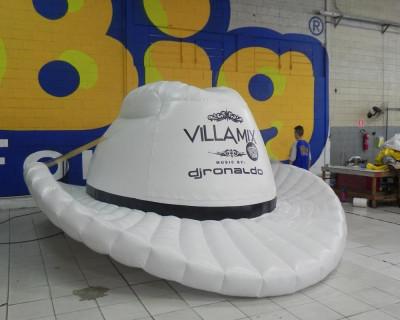 Chapéu Inflável Villa Mix