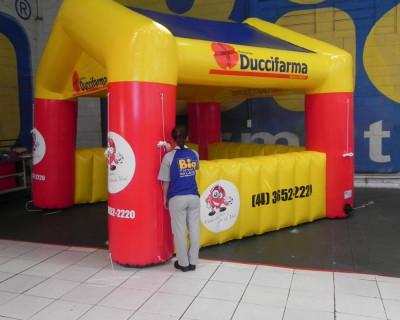 Tenda Inflável Duccifarma