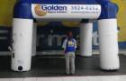 Tenda Inflável Golden Negócios - Foto 1