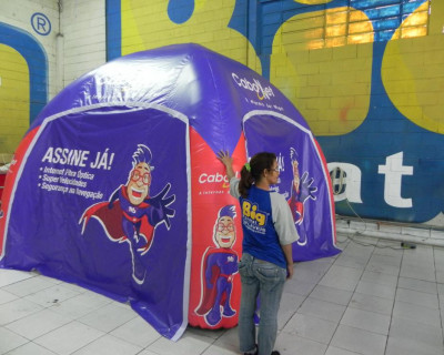 Tenda Inflável Cabonnet