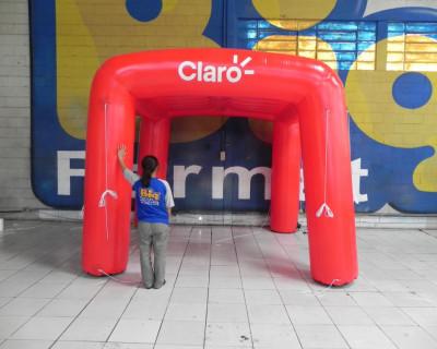 Tenda Inflável Claro