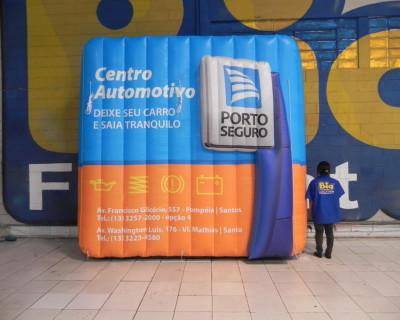 Logomarca Inflável Porto Seguro