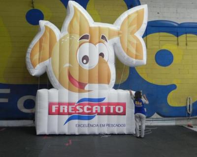 Logomarca Inflável Frescatto