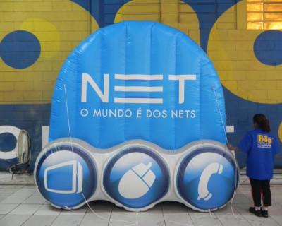 Logomarca Inflável NET
