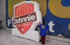 Logomarca Inflável Johnnie Special - Foto 1