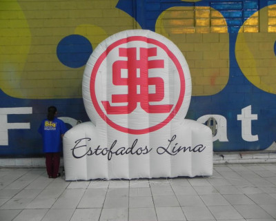 Logomarca Inflável Estofados Lima