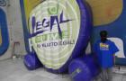 Logomarca Inflável Legal 101,9 FM - Foto 1