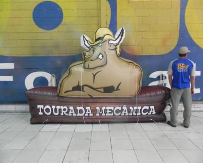 Logomarca Inflável Tourada Mecânica
