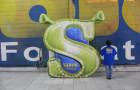 Logomarca Inflável Shrek - Foto 1
