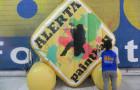 Logomarca Inflável Alerta Paintball - Foto 1
