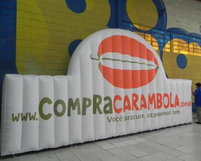 Logomarca Inflável Compra Carambola