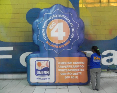 Logomarca Inflável Uni RN