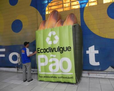 Logomarca Inflável Ecodivulgue