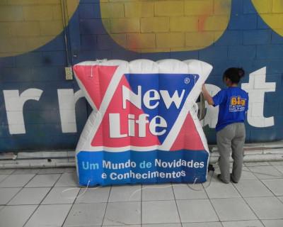 Logomarca Inflável New Life