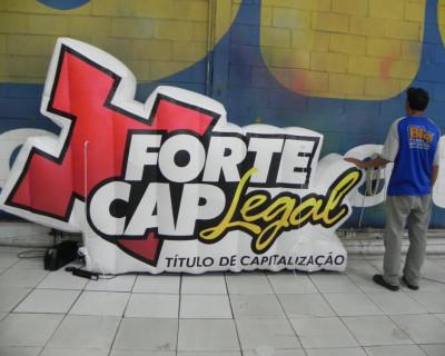 Logomarca Inflável Forte Cap