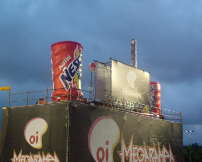 Réplica Inflável Nescau MegaRampa 2008