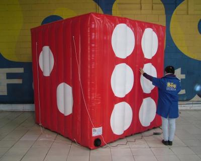 Tenda Dado Inflável