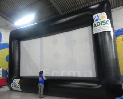 Tela de Projeção Inflável ADISC