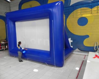 Tela de Projeção Inflável CPFL Energia