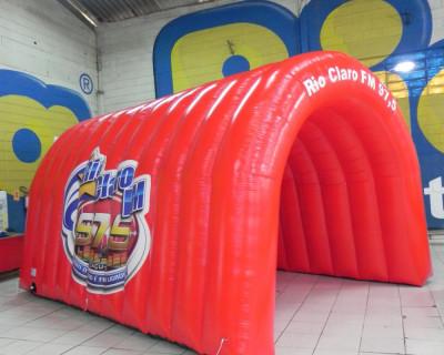 Túnel Inflável Rio Claro